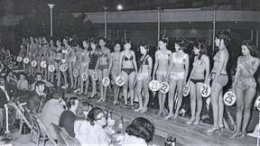 Nudist pageant contest