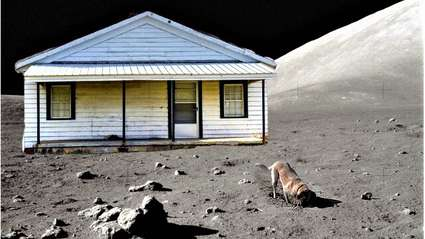 Funny story - The Mars Land Rover Has Just Sent Back An Amazing Photo