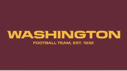 Funny story - The Washington Redskins New Name is The Washington Football Team (For Now)