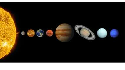 Funny story - NASA Photo Shows Planets Are Moving Closer Together At Alarming Rate